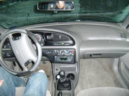 1998 ford contour information and photos zombiedrive
