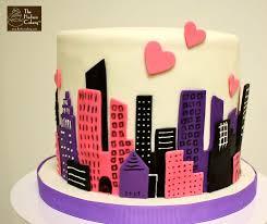 36 best alexa u0027s nyc party images on pinterest fondant cakes