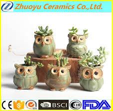 Animal Pots Ceramic Owl Flower Pot Ceramic Owl Flower Pot Suppliers And