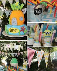 kara u0027s party ideas spongebob birthday party planning ideas cake