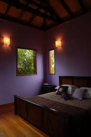 Dark Purple Bedroom by Decorative And Quietly Seductive Almost Black Walls With A Rich