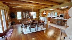 log cabin floors a bona fide log cabin on 18 acres in the catskills asks 775k 6sqft
