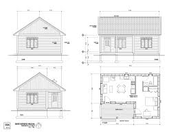 home design one room house layout the maison scoudouc plan c is