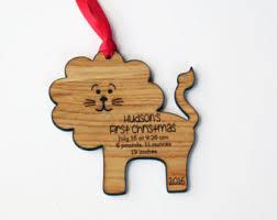 custom baby ornaments birth ornament etsy