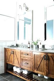 Bathroom Open Shelving Open Bathroom Vanity Metal And Wood Bathroom Vanity With An Open