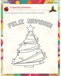 spanish christmas u2013 free fun christmas coloring pages u2013 jumpstart