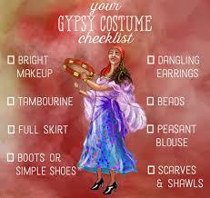 Gypsy Halloween Costumes 25 Gypsy Costume Ideas Gypsy Hairstyles