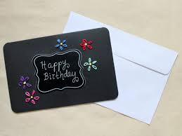how to make a birthday card embroidery on paper loulou downtown