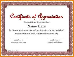 free certificate of appreciation templates for word certificate of appreciation 01 jpg