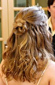 curly hairstyles for medium length hair for weddings