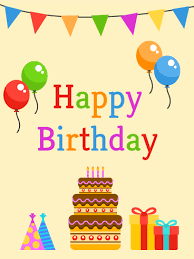 birthday cards for kids birthday party card for kids birthday greeting cards by davia