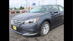 silver subaru legacy 2017 2016 subaru legacy carbide gray metallic youtube