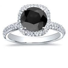 white and black diamond engagement rings black diamond engagement rings