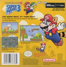 super mario advance 4 super mario bros 3 box shot game boy