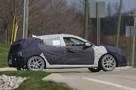 hyundai veloster doors second generation hyundai veloster prototype hides cleaner look