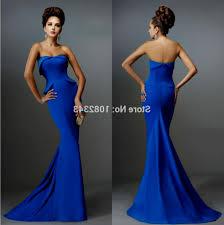 strapless royal blue prom dress naf dresses