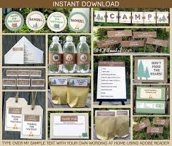 Camping Decorations Best 25 Camping Birthday Invitations Ideas On Pinterest Camping