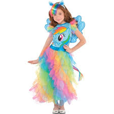 rainbow dash dress costume my little pony