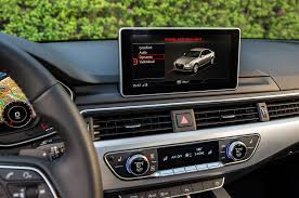 audi dashboard 2017 audi a4 2 0t tfsi quattro review