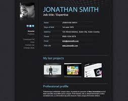 Resume Templates Html Html Resume Templates To Help You Land A Job