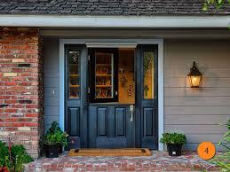 Paint Front Door Front Doors Fun Coloring Painted Front Doors With Sidelight 44