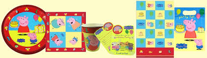 peppa pig party supplies peppa pig themed party decorations party wizard