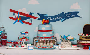 vintage airplane baby shower astonishing decoration vintage airplane baby shower chic