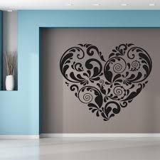 wallstickers folies heart wall stickers heart wall stickers