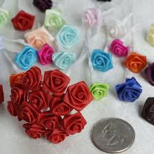 satin roses 144 artificial black satin bud diy craft flower applique brooch