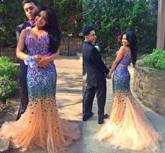 selling sparkling bling two pieces prom dresses sweetheart