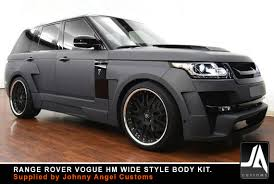 land rover vogue 2005 aerodynamic styling body kits for range rover
