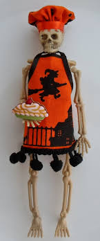 happier than a pig in mud spooky mini me skeleton ornament