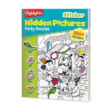 books kids hidden pictures highlights