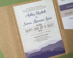 mountain wedding invitations mountain wedding invitations wedding ideas