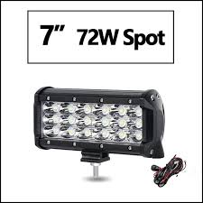 12v led light bar 7 3 row led light bar offroad spot led work light bar 12v 24v truck