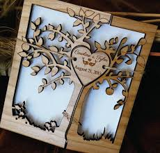 wood wedding invitations tree of wedding invitation wood wedding invitation custom