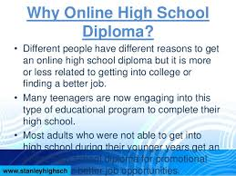 is online high school online high school diploma