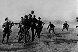 did dawley provide the football for the 1914 christmas truce