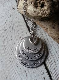 customized pendants kids names pendant grandmom gifts name jewelry personalized