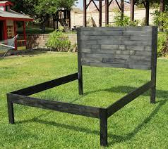 Pallet Platform Bed Pallet Platform Bed Frame With Headbaord Pallet Furniture Plans