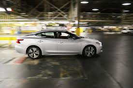 gray nissan maxima 2016 production starts for all new nissan maxima in smyrna tennessee