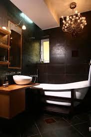 Dark Vanity Bathroom Dark Wood Bathroom Interiors Design