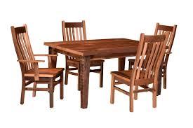 barn wood dining room
