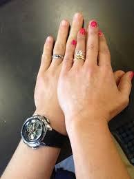 3 carat engagement ring danielle fishel s 3 carat brilliant cut ring the