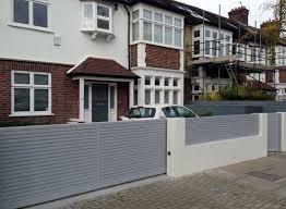 front garden wall ideas uk house design and planning garden trends