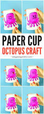 emotion changing paper cup octopus easy peasy and fun