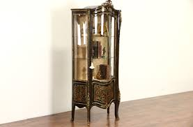 curio cabinet elegant antiqueurioabinets with drawers photos