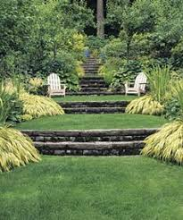 Tiered Backyard Landscaping Ideas Terraced Yard Landscape Ideas Search Pinteres