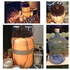 milk gallon halloween crafts plastic to pumpkin if you have extra 5 gallon water jugs sitting