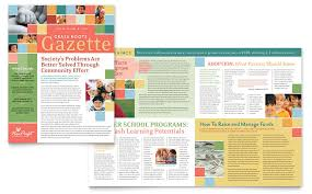 magazine ad template word microsoft word 2007 newsletter templates for children